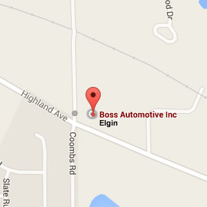 map - Boss Automotive - Elgin